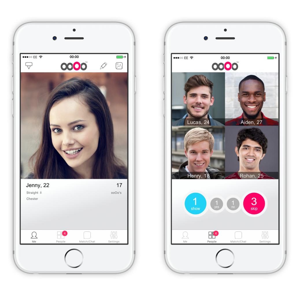 ooOo profile screenshot on iOS